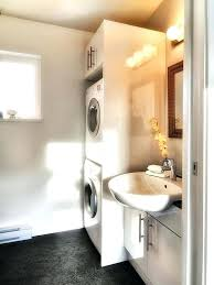 laundry in bathroom ideas bathroom laundry room combo bartarin site
