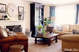 My Casual Cozy Family Room TIDBITSTWINE - Casual family room ideas