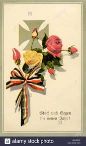new year s postcards new year s postcard during 1st world war stock photo royalty free