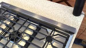 30 Induction Cooktop With Downdraft Kitchenaid Downdraft Hood Youtube