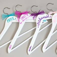 personalized wedding hangers best 25 bridesmaid hangers ideas on bridesmaid dress