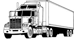 finest truck coloring pages truck ideas