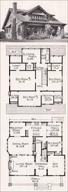 craftsman home floor plans craftsman bungalow floor plans 25 best bungalow house plans ideas