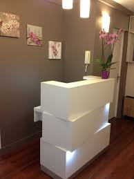 White Salon Reception Desk Best 25 Salon Reception Desk Ideas On Pinterest For Contemporary