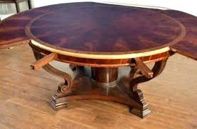 round kitchen table with leaf marvelous round table with leaf extension youthsense org
