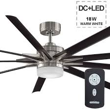 Ceiling Fan Led by Odyn High Airflow Dc Ceiling Fan Led Light And Remote 84