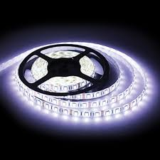 127 66080w 5 meter white l e d adhesive lighting strip 127 66080w