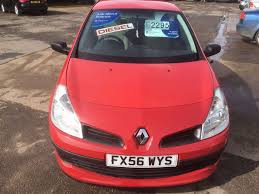 used red renault clio for sale cambridgeshire