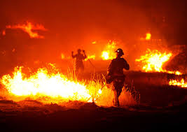 California Wildfire Ranking by Fire Fighting Drone Under Way At Olin Mit