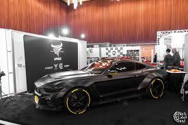 Satin Black Mustang Mustang Satin Black Custom Design U2014 Black Label Vinyl