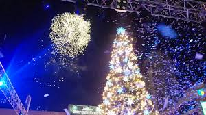 christmas tree lighting at araneta center youtube