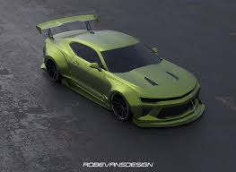 widebody camaro artstation widebody camaro rob evans
