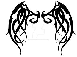tribal wings designs tribal wings digital version by dragonish