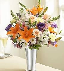 types of flower arrangements different flowers arrangement in pretty silver vase different flower