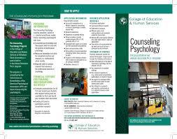 counseling psychology brochure by jdrcsu issuu
