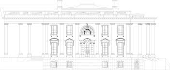 Mansion Blue Prints by White House Blueprint Download Free Blueprint For 3d Modeling