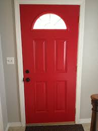 front door glidden red rose bouquet our house pinterest red
