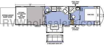 forest river xlr boost 36dsx13 toy hauler fifth wheel options the