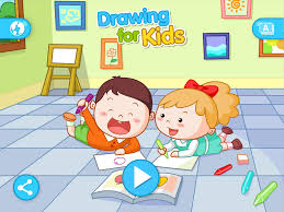 drawing for kids most comprehensive children simple drawings app