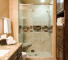 bathroom showers tile ideas bathroom peach wall tone with natural granite wall on shower