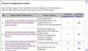 to bid review paper