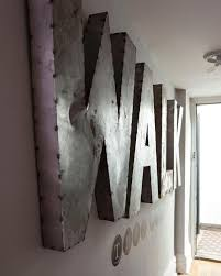 metal letters metal letters for wall metal wall decor letters stunning best 25