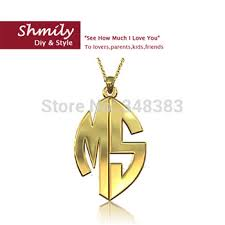 monogram jewelry cheap cheap name necklace online find name necklace online deals on line