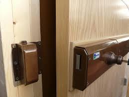 Closet Sliding Door Lock Closet Sliding Door Lock Bar Doors Ideas