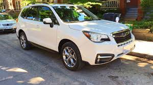 subaru forester interior 2017 2017 subaru forester 2 5i limited test drive review