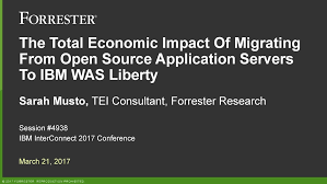 the total economic impact of migrating from open source