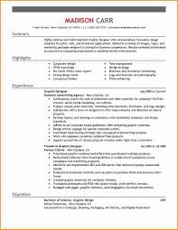 Innovative Resume Formats 13 Graphic Design Resume Example Invoice Template Download