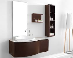 bathroom cozy bathroom design ideas with dark brown wood double