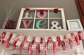 Ideas For Decorating Cards Valentine U0027s Day Heart Cards Garland Happiness Is Homemade