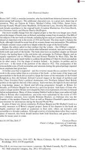 abraham lincoln thanksgiving proclamation text the irish revolution 1916 u20131923 by coleman marie pp 169