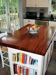 Kitchen Island Counters African Mahogany Custom Wood Countertops Butcher Block