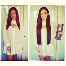 zala clip in hair extensions wearing 26 inches of beautiful