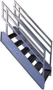 galvanized stairs industrial stairs metal stairs open tread