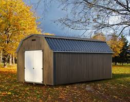 lofted gambrel barn raber portable storage barns