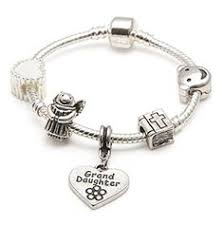Goddaughter Charm Goddaughter Charm Bracelet This Fabulous Personalised Pink Hello