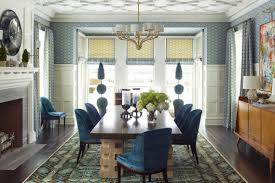 elements of an elegant formal dining room abode