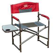 Folding Directors Chair With Side Table Timber Ridge Aluminum Folding Director Chair With Side Table