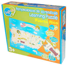 Map Puerto Rico Puerto Rico Map Puzzle Smart Play Educational Toys