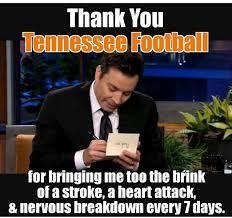 Tennessee Football Memes - 28 best tennessee football images on pinterest tennessee