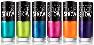 maybelline new york color show nail lacquer goes electric