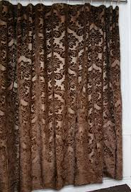 Brown And Gold Shower Curtains Black And Gold Shower Curtains De Lune