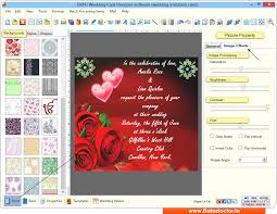 marriage wedding cards wedding card maker software design colorful marriage invitation cards