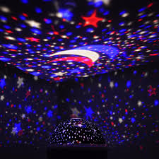 Led Projector Christmas Lights by 2017 Wholesale Sun Star Lighting Led Lamp Romantic Room Rotating