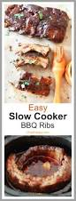 slow cooker bbq ribs fall off the bone delish chop happy