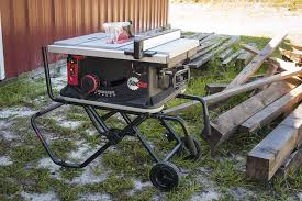 Job Site Table Saw Sawstop Jobsite Table Saw Review Jss Mca Ptr