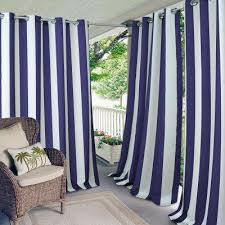 Outdoor Cabana Curtains Outdoor Curtains Drapes Window Treatments The Home Depot